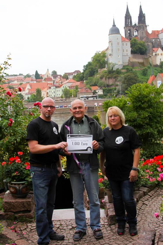 Leipzig Hilft: Spendenübergabe in Meißen