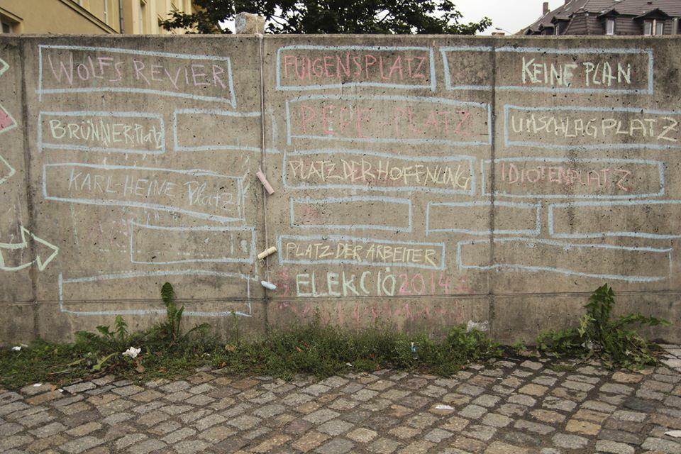 """Federation of Urban Imagination"" auf dem Huygensplatz"