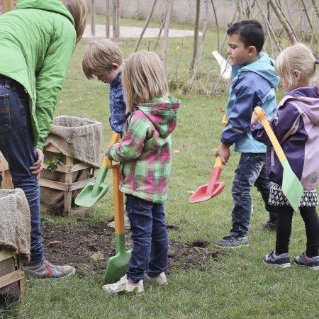 Kinderkunst & Stadtpflanzen